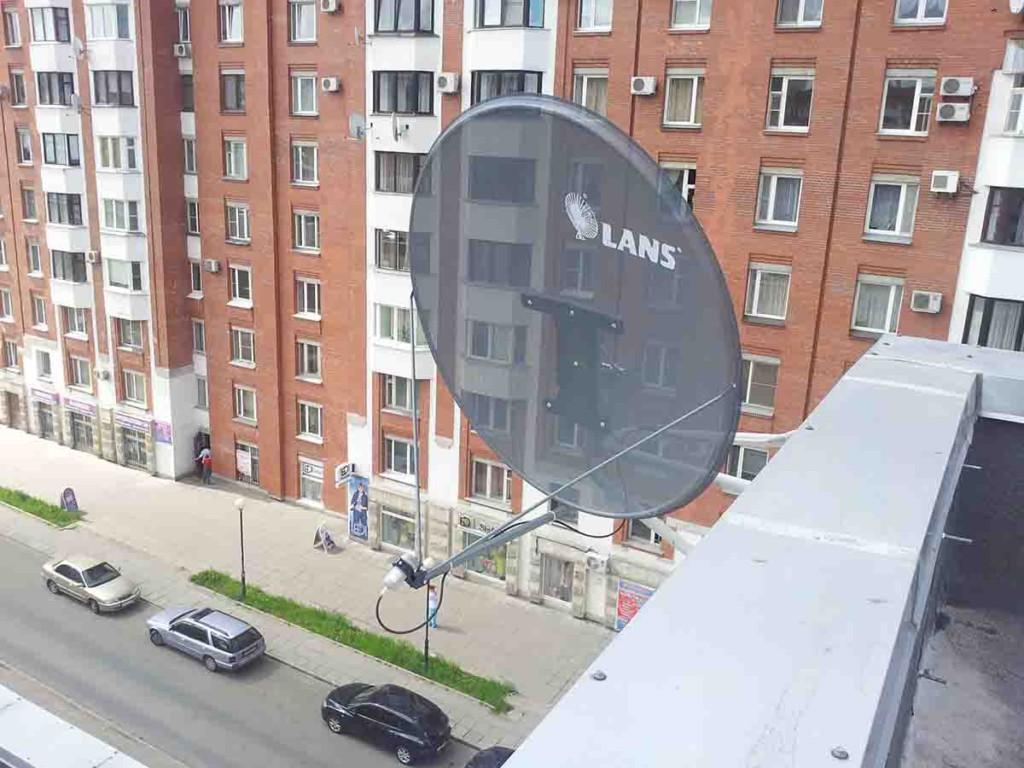 Настройка антенны НТВ-ПЛЮС 1
